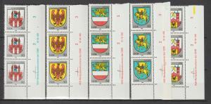 DDR-Druckvermerke:: Stadtwappen (1985) DV