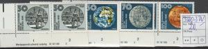 DDR-Druckvermerke:: Astronautische Föderation (1990) DV