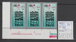 DDR-Druckvermerke:: Alphabetisierung (1990) DV
