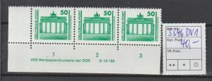 DDR-Druckvermerke:: Freimarke Brandenbg. Tor mit DV 1