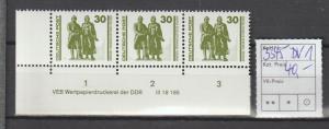 DDR-Druckvermerke:: Freimarke Goethe/Schiller mit DV 1