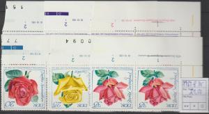 DDR-Druckvermerke: Rosenausstellung (1972)