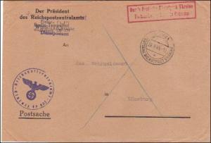 Deutsche Dienstpost Ukraine-Postsache Einsatz Ostraum -Postschutz der Ukraine