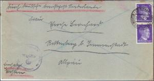 Deutsche Dienstpost Niederlande - Postsache Einsatz Westen - Postschutz