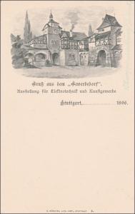 Württemberg:  Ganzsache