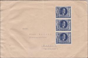 III. Reich: Brief nach Passau, schöne MeF
