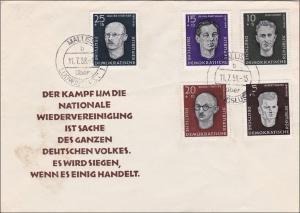 DDR: 1958: Wiedervereinigung Malliss