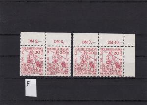 DDR: MiNr. 544 I-VI, VIII, IX, postfrisch