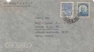Via Aera LATI Brasilien-Berlin 1940 (?) nach Berlin-Latipost, Zensur