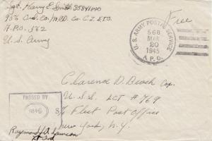 POW - Kgf: 1945 USA - Zensur -