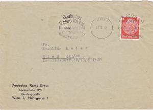 Wien: Deutsches Rotes Kreuz 1942-Maschinenstempel
