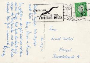 Fährschiff Theodor Heuss 1961 nach Kassel