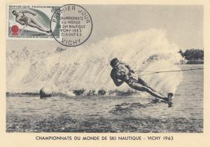 1963: Championnats du Monde de Ski Nautique-Wasserski - Frankreich