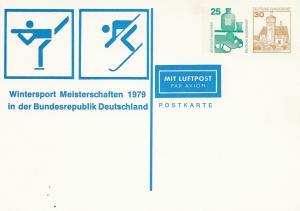 1979: Wintersport Meisterschaften-Ganzsache
