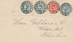 Dänemark: 18xx: Brief von Kopenhagen nach Deutschland