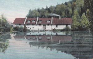 Estland: Ansichtskarte Badstube Ligat