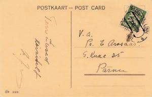 Estland: 1934 Weihnachstkarte Tallinn
