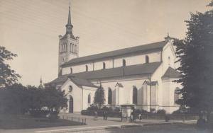 Estland: Ansichtskarte Tallinmas Kirche