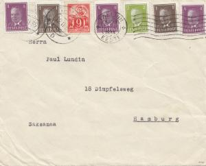Estland: 1939: Brief Tallinn nach Hamburg