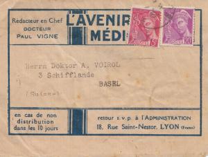 Frankreich: Streifband Lyon nach Basel