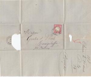 Frankreich: 1873 Ober-Ehnheim nach Königshoffen