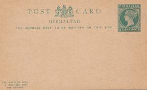 Gibraltar: 3x Ganzsache P18, P19, P20