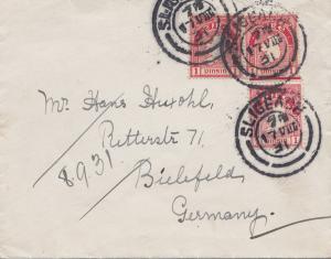Irland: 1931: nach Deutschland/Bielefeld