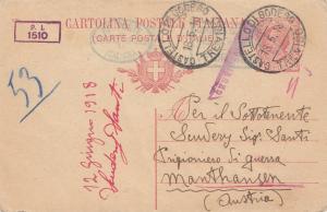 Italien: 1918: Castello di Bodego nach Österreich