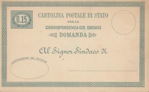 Italien: DP2: Cartolino Postale di Stato - Doppelkarte