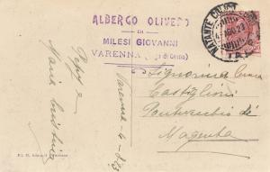 Italien: 1923: Ansichtskarte Varenna/Lago di Como