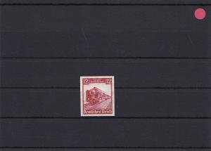 III. Reich: MiNr. 581U, postfrisch, mehrfach signiert u.a. Heinze