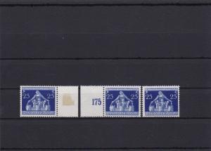 III. Reich: MiNr. 620I/III, Abarten I, II, III, postfrisch. III geprüft