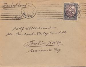 1921 Lettland: Riga nach Berlin