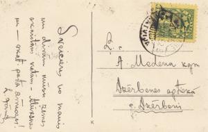 Lettland: 1928: Ansichtskarte Alüksne