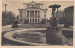 Lettland: 1939: Ansichtskarte Riga