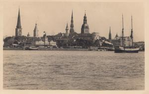 Lettland: Ansichtskarte Riga 1929