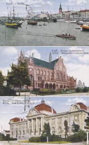 Lettland: 1930: Ansichtskarte Riga