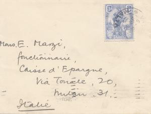 Malta: 1925 Brief nach Italien