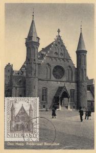 Niederlande: 1949: Maximum Karte Den Haag