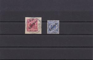 Deutsche Kolonien: Karolinen MiNr. 3I und 4I, gestempelt, BPP signiert