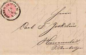 Österreich: 1867: Wieden in Wien nach Hermannstadt