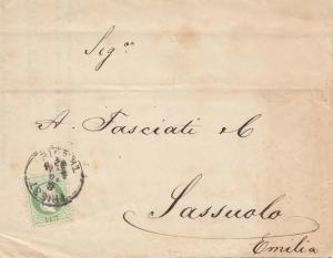 Österreich: 1882: Triest nach Sassuolo