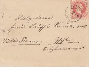 Österreich: 1851: Brief nach Ischl