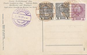 Österreich: 1909: Innsbruck Tiroler Landes-Jahrhunderfeier - Ansichtkarte
