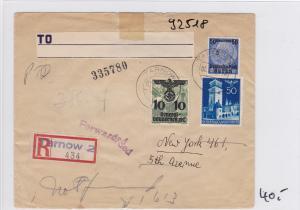 GG: Einschreiben von Tarnow in die USA