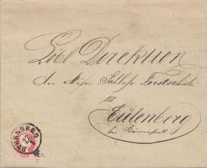 Österreich: 1879: Frachtbrief von Wien nach Sternberg, Stempelmarke, Likör
