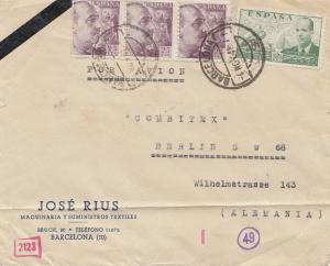 Spanien: 1941: Barcelona nach Berlin, Zensuren