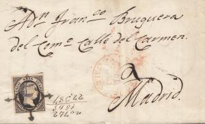 Spanien: 1851: Mataro nach Madrid