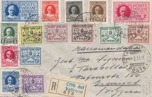 Vatikan: 1931: Einschreiben in die Schweiz