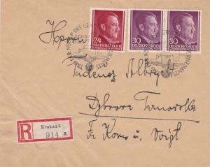 GG: Einschreiben mit Sonderstempel Tag der NSDAP
